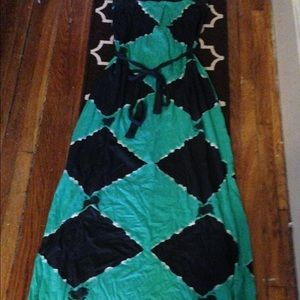 French connection maxi dress.