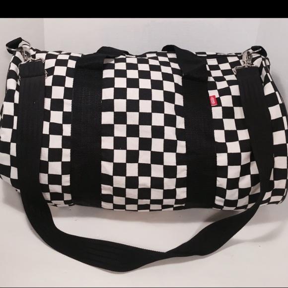 db8003456c VANS checkered duffle crossbody bag