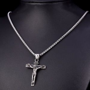 Other - New stainless steel cross necklace for men