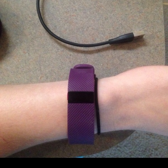 40% off Fitbit Accessories - FitBit Charge HR-Plum, Size Small ...