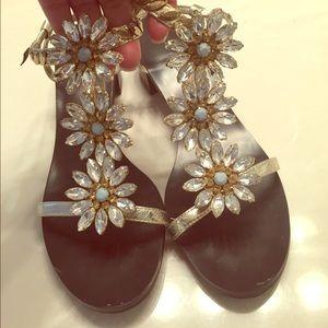 Bebe sandals. Size 6