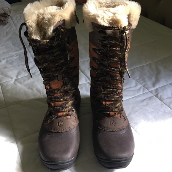 15dc0fb569 Merrell women's winter boots