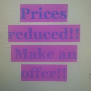 Other - Prices reduced!
