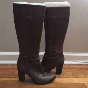 Marc Fisher Shoes - Marc fisher brown leather boots