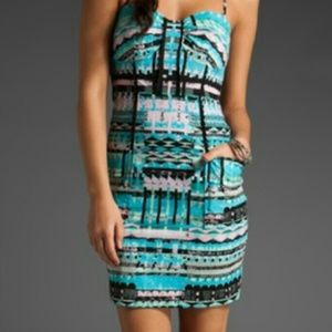 Plenty by Tracy Reese Printed Strapless Dress