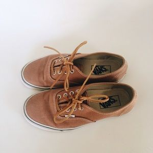 dc74fedd74cc8b Madewell Shoes - Madewell Brushed Twill Authentic Vans Brown 7
