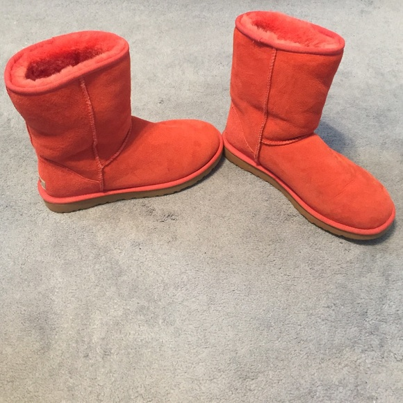 43 ugg shoes coral colored ugg boots from bet