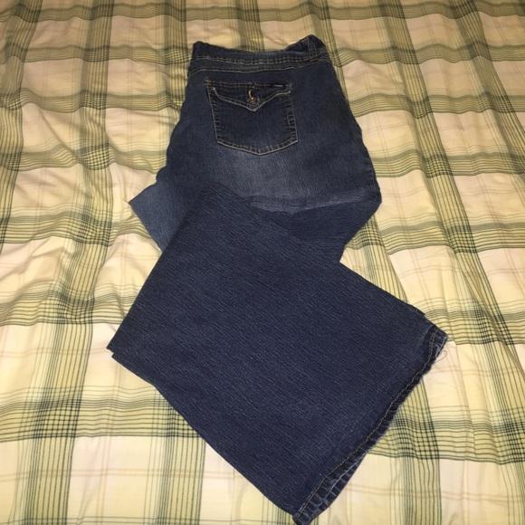 Flare Leg Plus Size Jeans - Xtellar Jeans