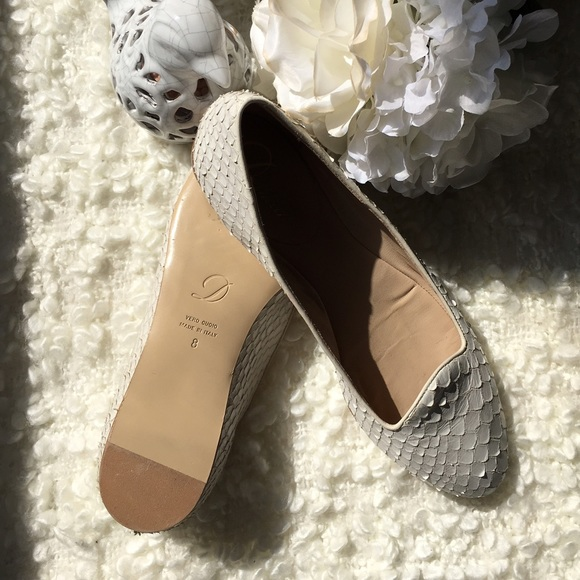 96bb22650c2 Delman Shoes - 💯% Authentic Delman Leather Ballet Flats