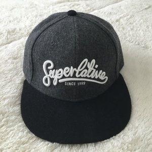 "WeSC Other - WeSC ""Superlative Since 1999"" Strapback Cap"