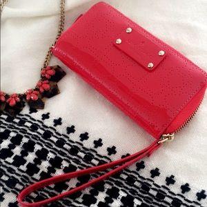 kate spade Handbags - 🎉HOST PICK🎉 KATE SPADE Red Wristlet - LOWEST