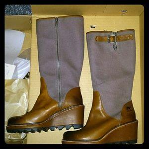 SOREL Shoes - Sorel Cool Canvas Wedge boot