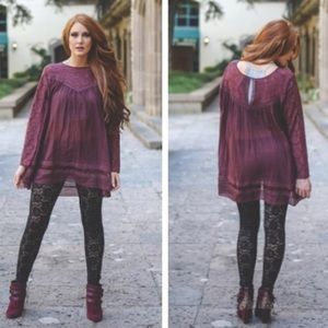 Tops - SALE Beautiful wine color tunic