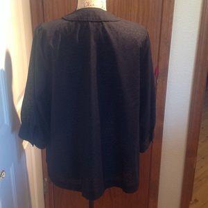 a.n.a Tops - a.n.a  Black 3/4 Sleeve Blouse
