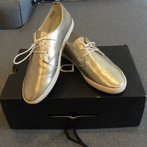 aldo shoes gold sneakers