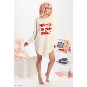 NEW Wildfox Milkman I'm Your Baby Tunic