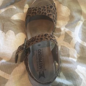 c9c200f177d4 mephisto Shoes | New In Box Leopard Sandals Size 40 | Poshmark