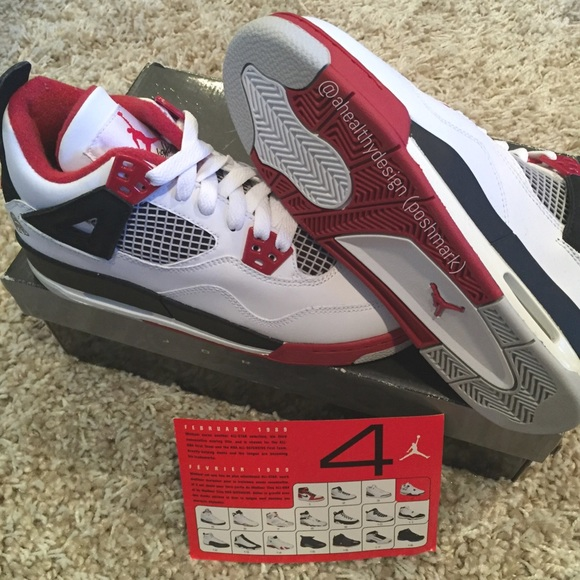 cd42776056c Nike Jordan 4 Retro 2006 Mars Blackmon (GS size 4)