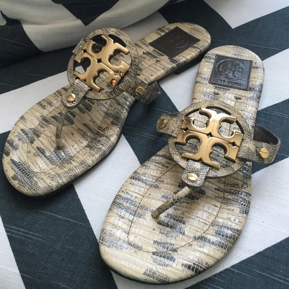 c696727276ab NEW Tory Burch Snakeskin Miller 2 Sandals. M 57016a144127d0f82f009d09.  Other Shoes ...