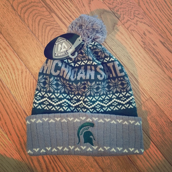 ca0d4e97d38 Michigan State Spartans Winter Hat