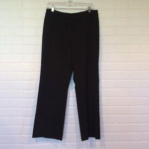 """Covington Pants - Black """"tuxedo""""-style dress pants, petite sz 10"""