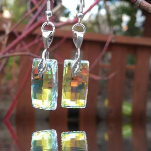 Jewelry - Handcrafted earrings with Swarovski crystal #225