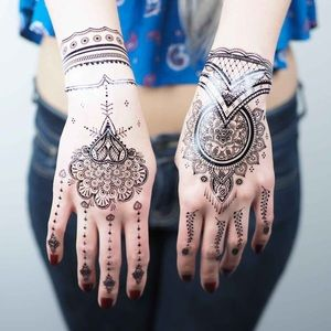 0ff2fa8365b oohlaluxe. 33. 12. Jewelry - Black henna temporary tattoos style  1