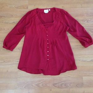 Vanessa Virginia by Anthropologie Blouse