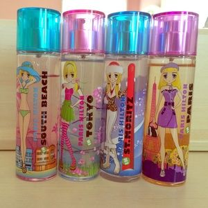 Other - Paris Hilton Travel Perfume Set