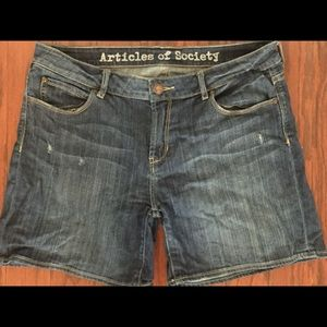 SOLD!: Articles of Society Denim shorts : Size 32