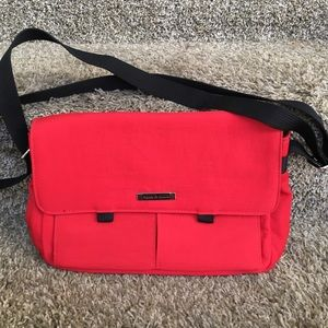 Frankie & Johnnie Handbags - Red canvas purse
