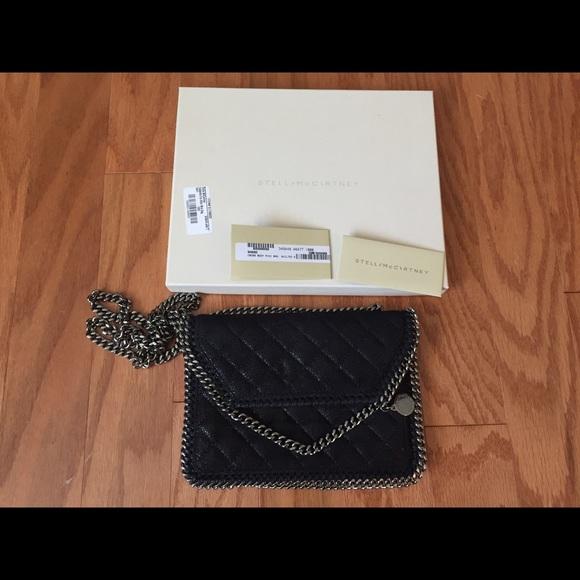 56b88c82eb5a Stella McCartney Falabella Mini Bag in Black. M 570186ac56b2d6b79100ead8