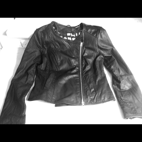 Idra leather jacket