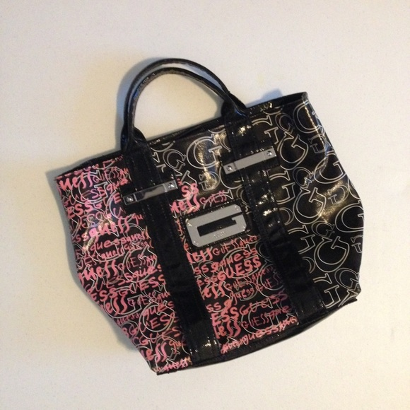 Guess Handbags - Guess Graffiti Bag
