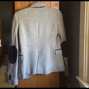 Zara Jackets Coats Blazer With Elbow Patches Poshmark