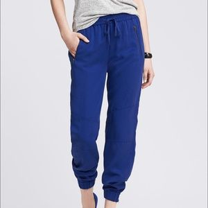 Banana Republic Cobalt Blue Jogger Pants