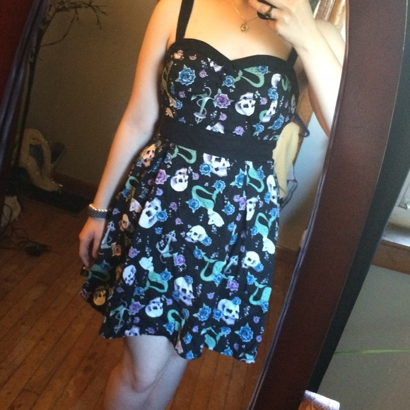 1d14968b0ed Hot Topic Dresses   Skirts - Skulls and Mermaids Sundress