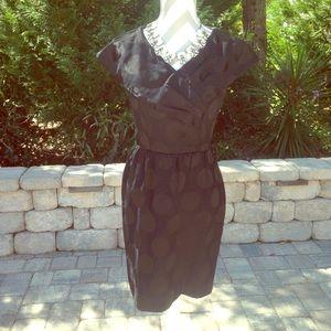 Liz Claiborne Polka Dot Cocktail Dress