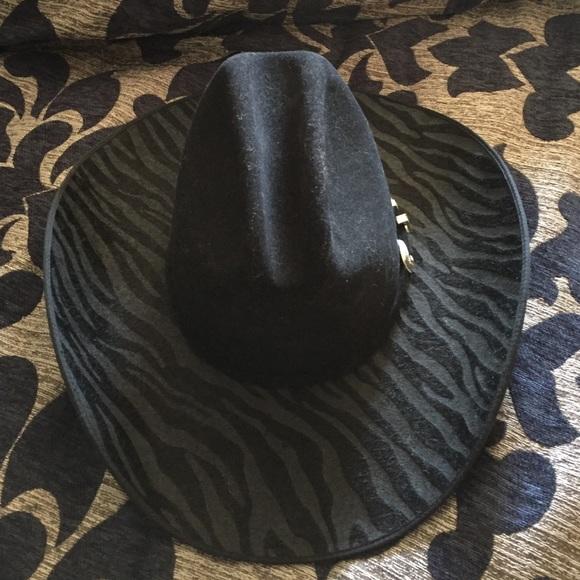 575bdf0ebb8ca Charlie 1 Horse Accessories - Charlie 1 Horse women s black cowboy hat