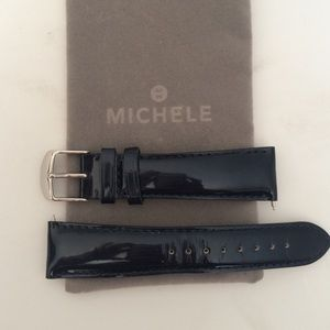 Michele Accessories - MICHELE 20 Navy watch band