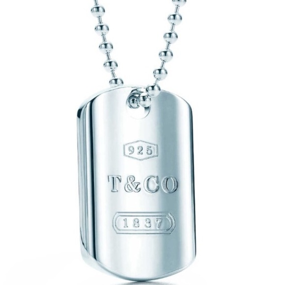 48930876c Authentic Tiffany and Co Dog Tag Necklace. M_57019cd0291a35d865010ea0