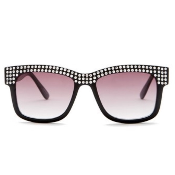 15aa190b01d Betsey Johnson Rhinestone Fashion Sunglasses- New
