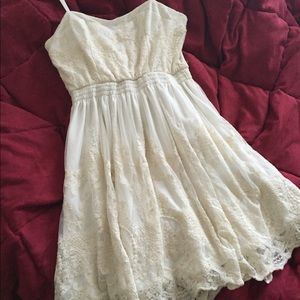 Pins & Needles Dresses & Skirts - White lace dress