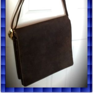 Handbags - Genuine Leather Messenger / Laptop Bag! Used Once!