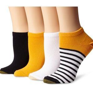 Gold Toe Accessories - New Gold Toe Women's Fashion Liner Socks 4pk