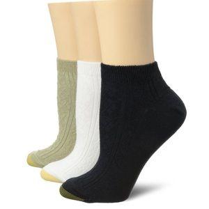 Gold Toe Accessories - New Gold Toe Women's 3pk Low Cut Socks
