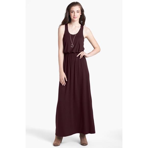 Lush tulip dress maxi black