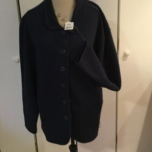 Jackets & Blazers - Navy Blue Jacket.