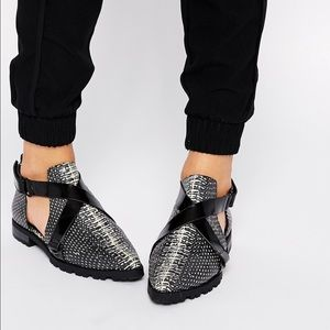 Asos cut out shoes