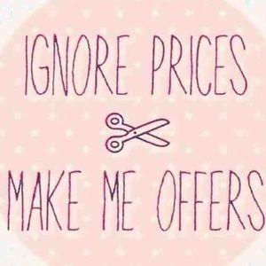 I love offers!!!❤️❤️❤️
